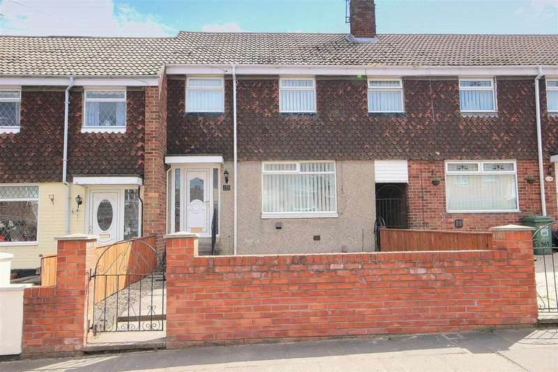 3 Bedrooms Terraced House for sale in Macaulay Road, Rift House, Hartlepool