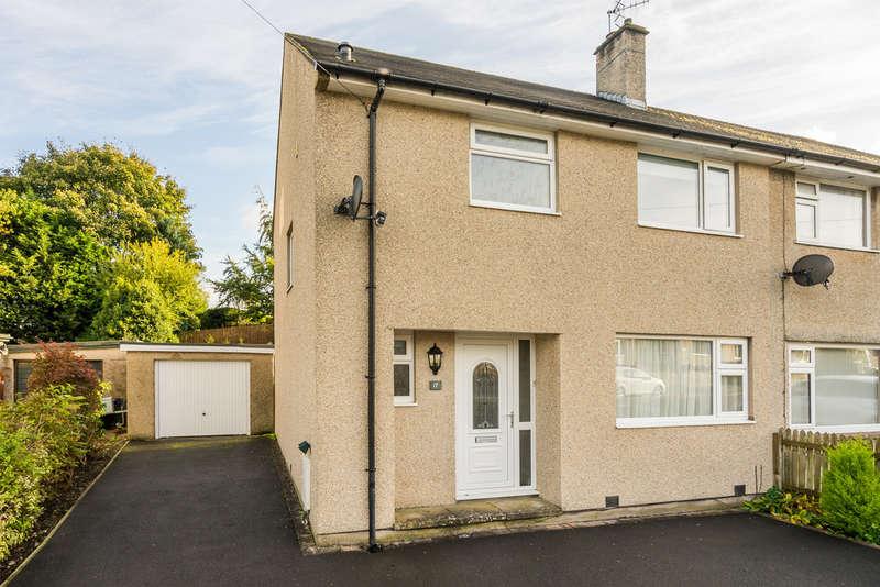 3 Bedrooms Semi Detached House for sale in 17 Wattsfield Avenue, Kendal, Cumbria LA9 5JJ