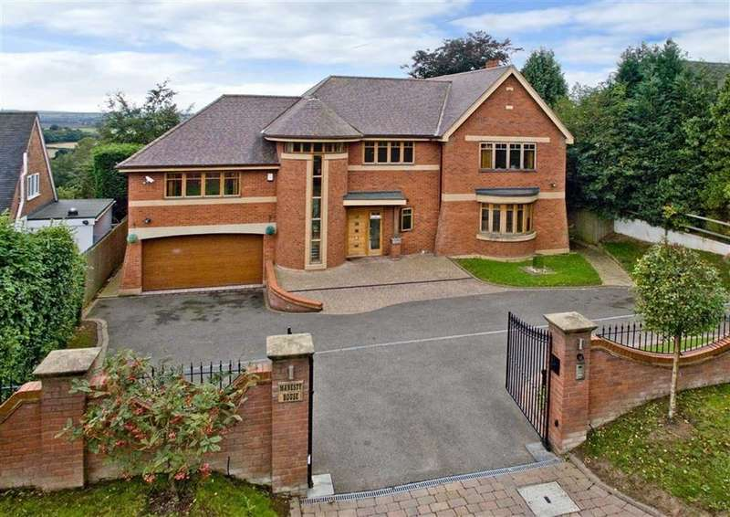 5 Bedrooms Detached House for sale in Manesty, Pattingham Road, Perton Ridge, Wolverhampton, South Staffordshire, WV6