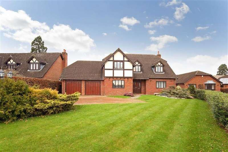 5 Bedrooms Detached House for sale in Fismes Way, Shrewsbury, SY4