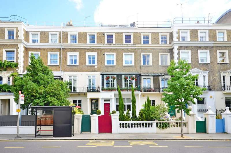 4 Bedrooms Terraced House for sale in Kensington Park Road, Notting Hill, W11