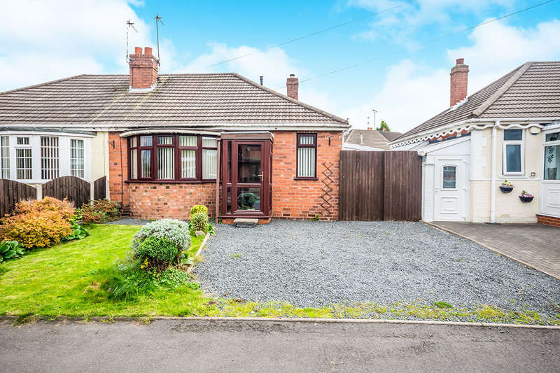 2 Bedrooms Semi Detached Bungalow for sale in Rainbow Street, Coseley, Bilston, WV14