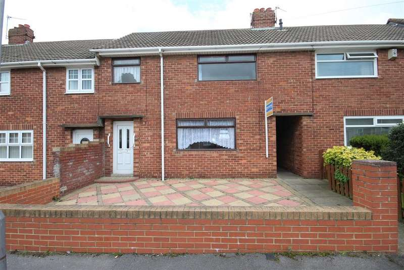 3 Bedrooms Terraced House for sale in Whitrout Road, Hartlepool