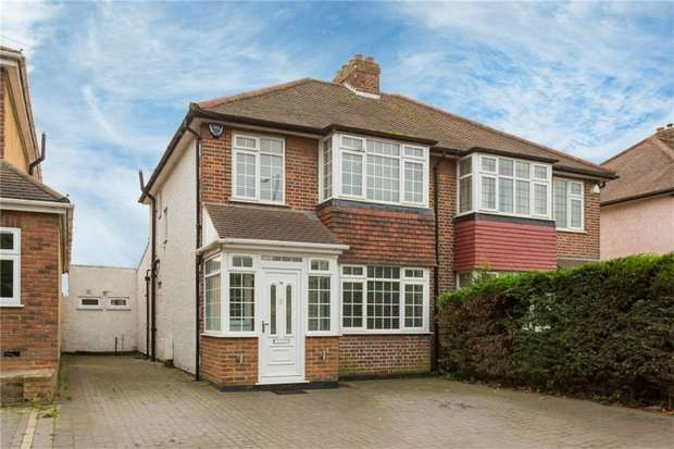3 Bedrooms Semi Detached House for sale in 56 Langley Park Road, Iver, Buckinghamshire