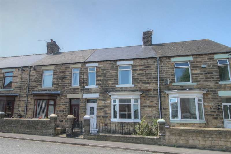 3 Bedrooms Terraced House for sale in Swan Street, Evenwood, Bishop Auckland, DL14