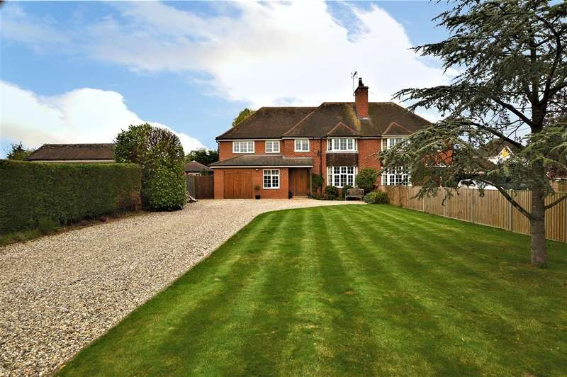 5 Bedrooms Semi Detached House for sale in Burghfield Village, Reading, RG30