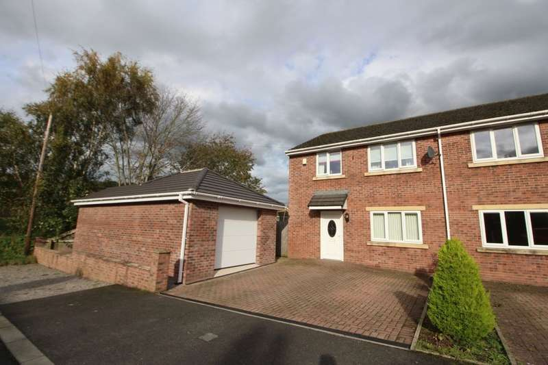 3 Bedrooms Semi Detached House for sale in Caird Avenue, Carlisle, CA3