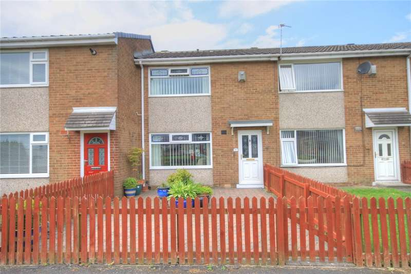 2 Bedrooms Terraced House for sale in Oakwood, Catchgate, Stanley, DH9