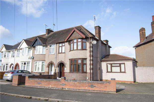 3 Bedrooms Semi Detached House for sale in Capmartin Road, Radford, Coventry, West Midlands