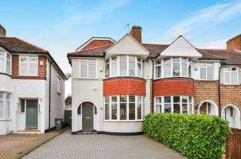 4 Bedrooms End Of Terrace House for sale in Holmdale Road, Chislehurst, Kent, BR7 6BY