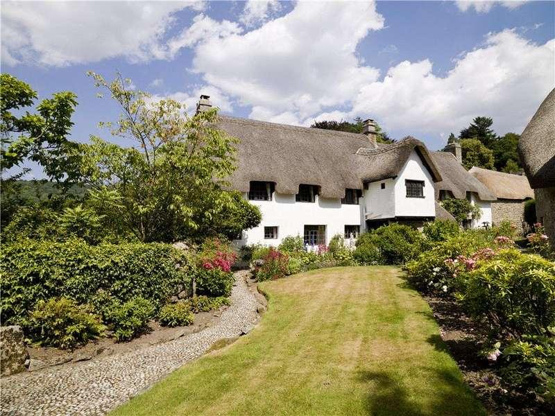 5 Bedrooms Detached House for sale in Lustleigh, Newton Abbot, Devon, TQ13