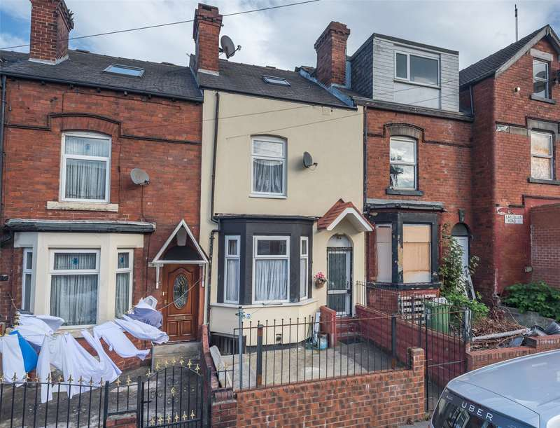 4 Bedrooms Terraced House for sale in Lascelles Road East, Leeds, West Yorkshire, LS8