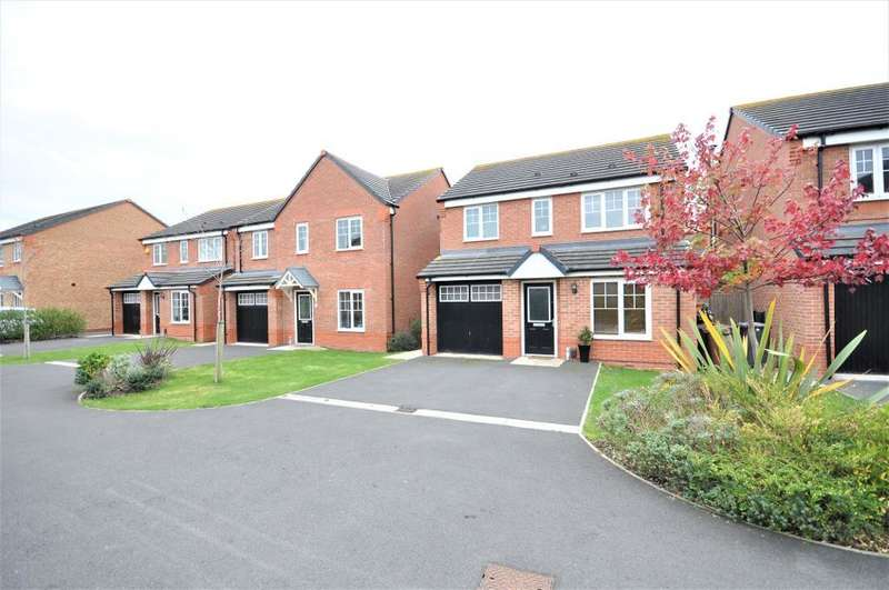 3 Bedrooms Detached House for sale in Primrose Close, Warton, Preston, Lancashire, PR4 1EN