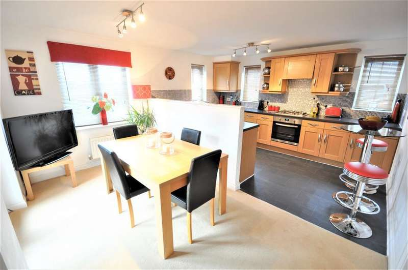4 Bedrooms Detached House for sale in Fishermans Way, Rossall, Fleetwood, Lancashire, FY7 8SE