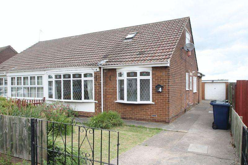 3 Bedrooms Semi Detached Bungalow for sale in Meadowcroft Road, Normanby