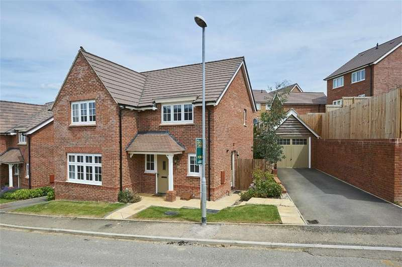 4 Bedrooms Detached House for sale in Page Road, Market Harborough, Leicestershire