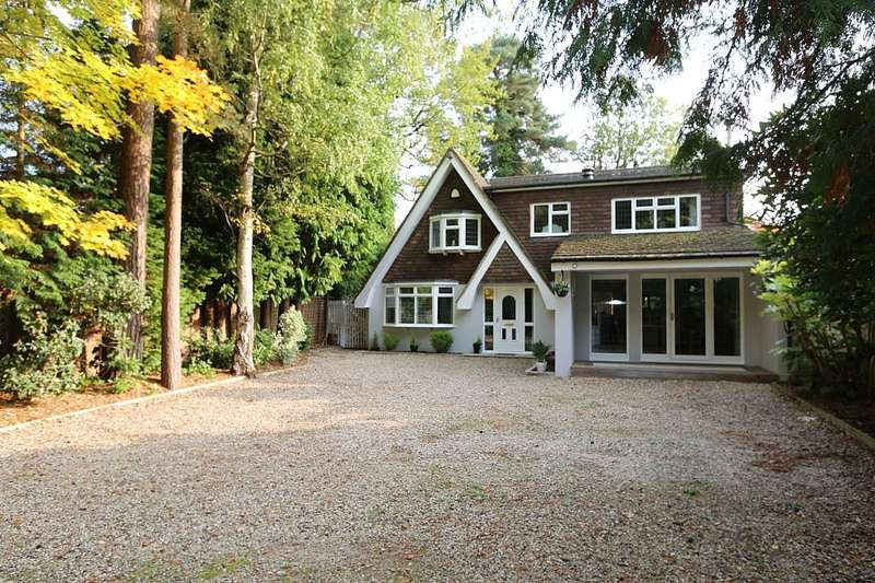 4 Bedrooms Detached House for sale in Lower Wokingham Road, Crowthorne, Berkshire