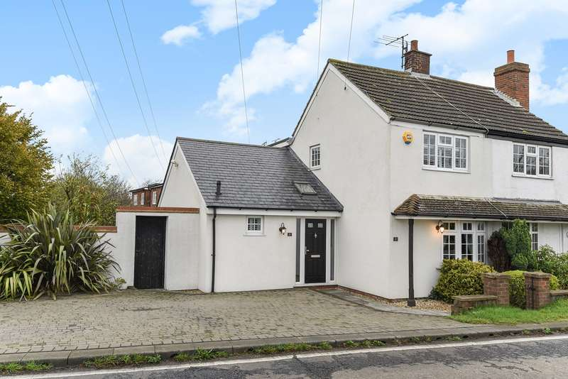 2 Bedrooms Semi Detached House for sale in Manley Highway Cottages, Pirton Road, Hitchin, SG5