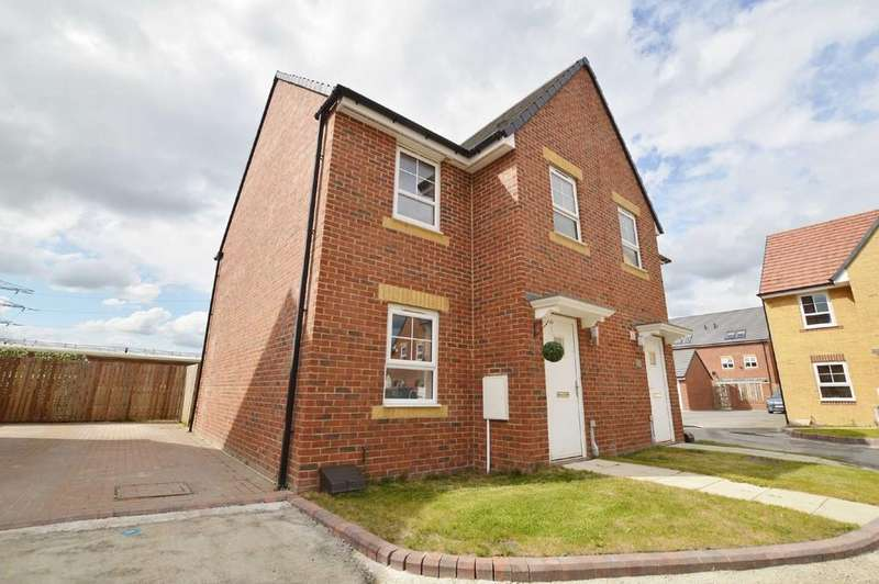 3 Bedrooms Semi Detached House for sale in Addison View, Blaydon On Tyne