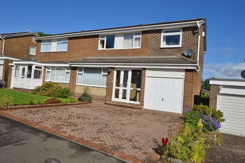 4 Bedrooms Semi Detached House for sale in Castle Road, Prudhoe