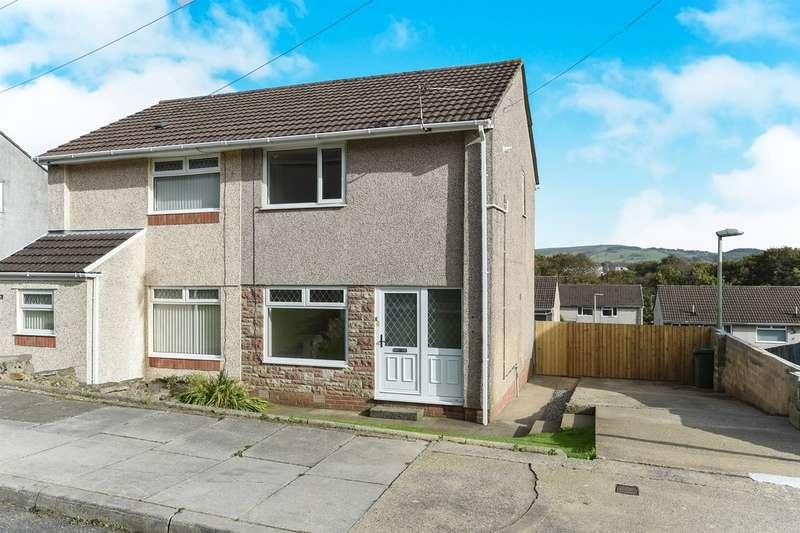 2 Bedrooms Semi Detached House for sale in Clos Llangefni, Beddau, Pontypridd