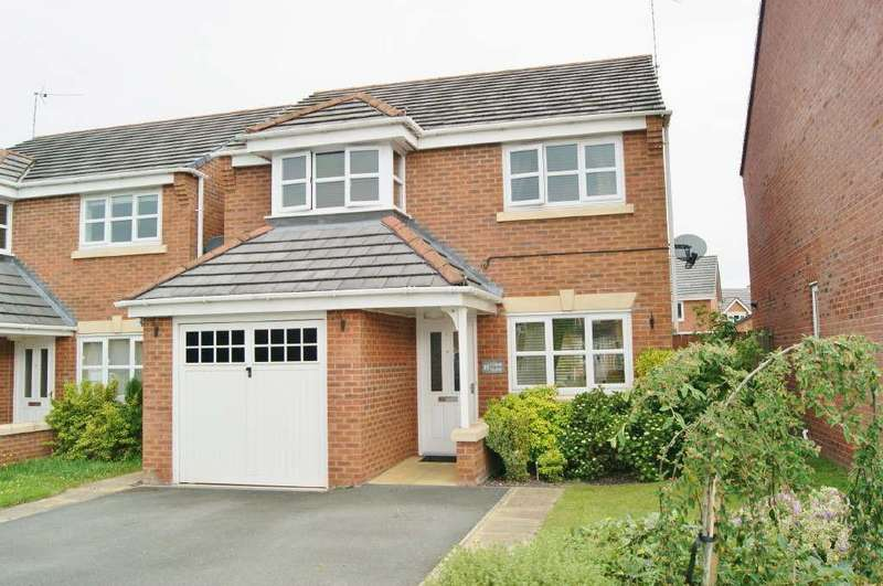 3 Bedrooms Detached House for sale in Gorse Close, Ruabon