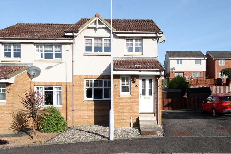 3 Bedrooms Semi-detached Villa House for sale in West Baldridge Road, Dunfermline, Fife, KY12 9AW
