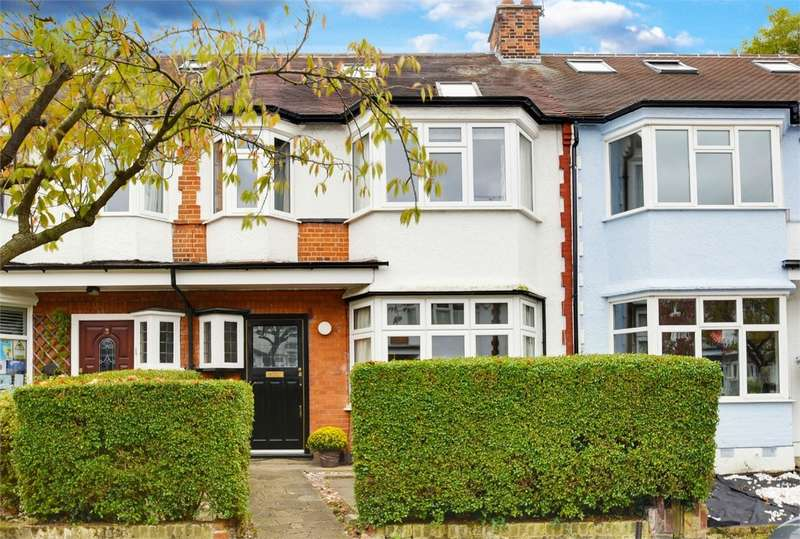 5 Bedrooms Terraced House for sale in Elm Gardens, East Finchley, London