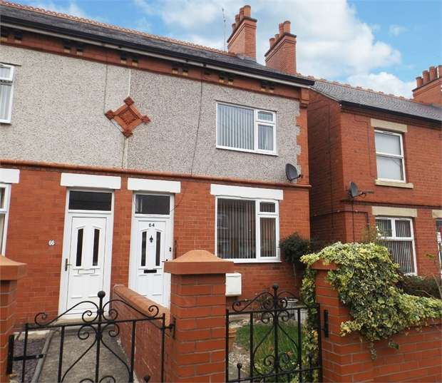 2 Bedrooms End Of Terrace House for sale in Norman Road, Wrexham