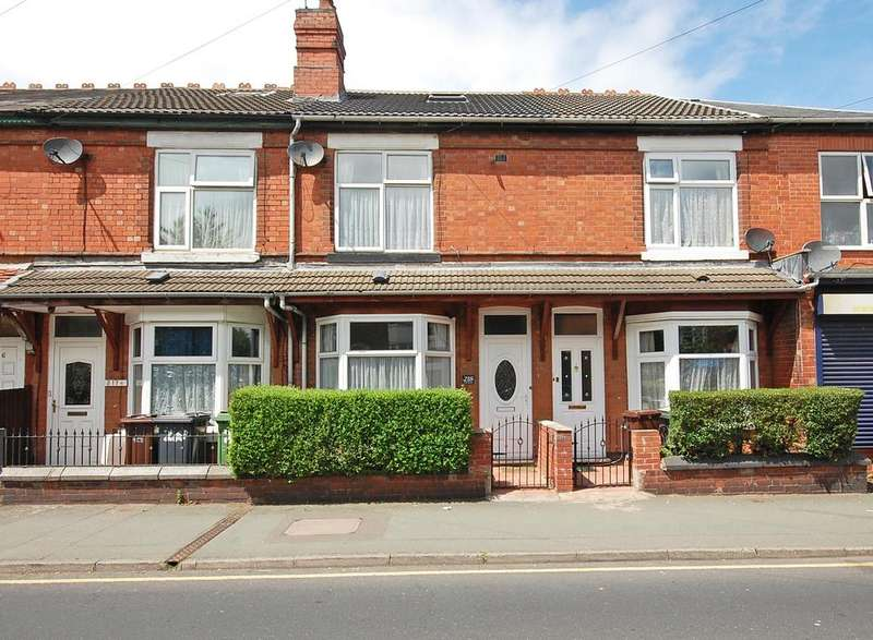 4 Bedrooms Terraced House for sale in Lea Road, Pennfields, Wolverhampton WV3