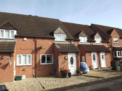 2 Bedrooms Terraced House for sale in Apperley Close, Quedgeley, Gloucester, Gloucestershire