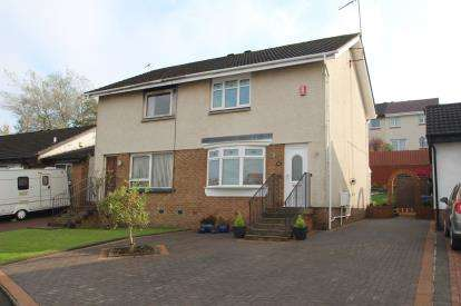 2 Bedrooms Semi Detached House for sale in Dunalastair Drive, Stepps
