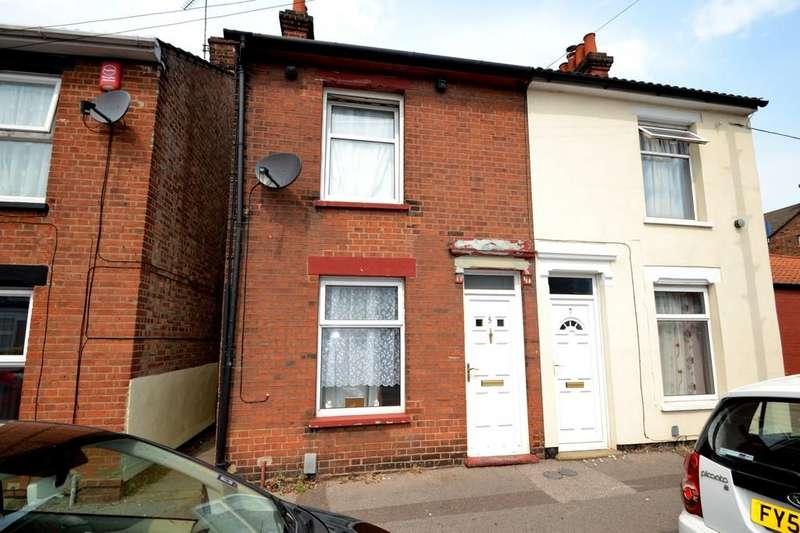 2 Bedrooms Semi Detached House for sale in Wellesley Road, Ipswich, Suffolk, IP4 1PP