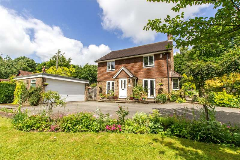 4 Bedrooms Detached House for sale in Rushlake Green, Heathfield