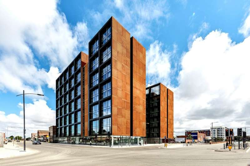 1 Bedroom Flat for sale in The Metalworks Vauxhall Road, Liverpool, L3