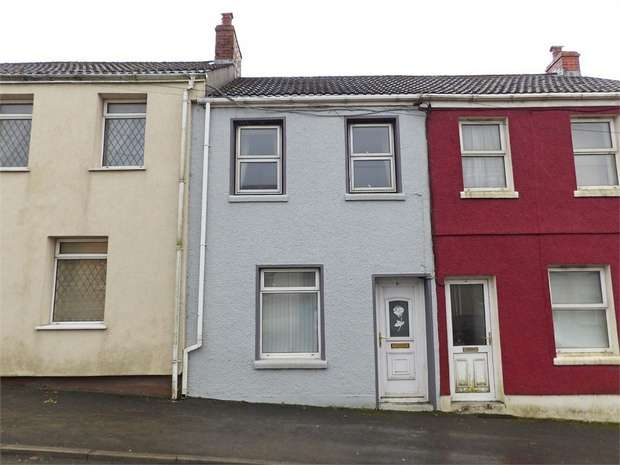 2 Bedrooms Terraced House for sale in High Street, Tumble, Llanelli, Carmarthenshire