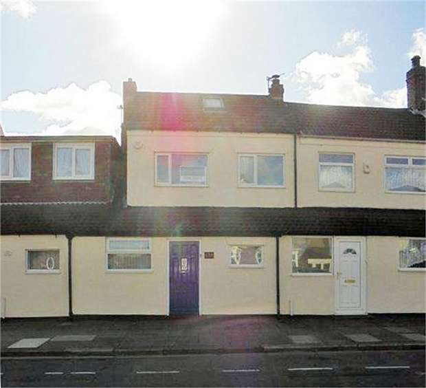 2 Bedrooms Terraced House for sale in High Street West, Redcar, North Yorkshire
