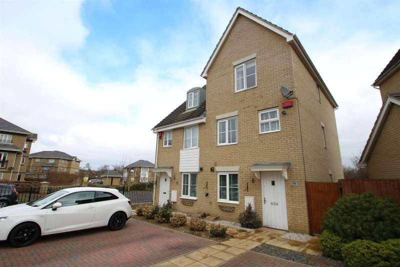 4 Bedrooms Semi Detached House for sale in Newman Drive, Grange Farm, Kesgrave, Ipswich