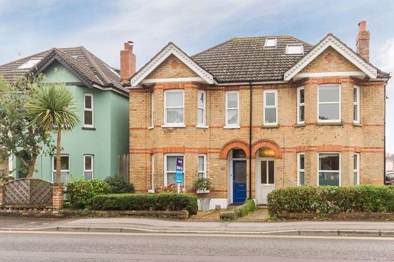 3 Bedrooms Semi Detached House for sale in Sandbanks Road, Whitecliff, Poole