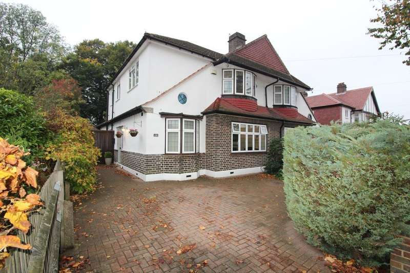 4 Bedrooms Semi Detached House for sale in Park Avenue, Orpington, Kent, BR6 9EE