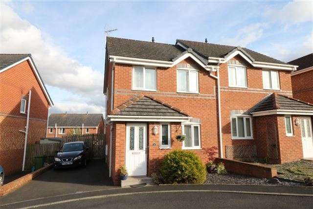 3 Bedrooms Semi Detached House for sale in Parham Drive, Carlisle, Cumbria, CA2 7RP