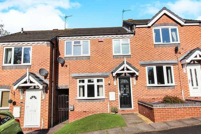 3 Bedrooms Terraced House for sale in Hodson Way, Heath Hayes, Cannock, WS11