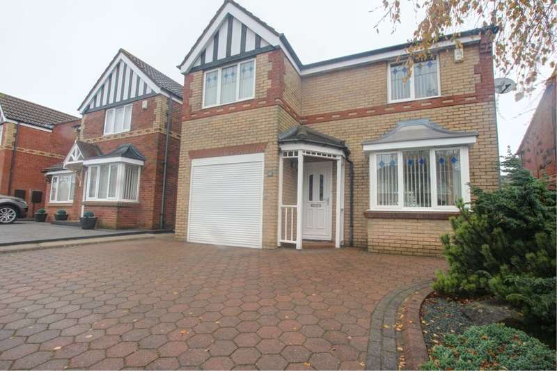 4 Bedrooms Detached House for sale in Bluebell Close, Gateshead, NE9