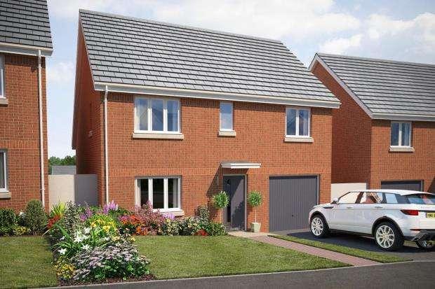 4 Bedrooms Link Detached House for sale in Kings Gate, Saxon Way, Kingsteignton, Devon