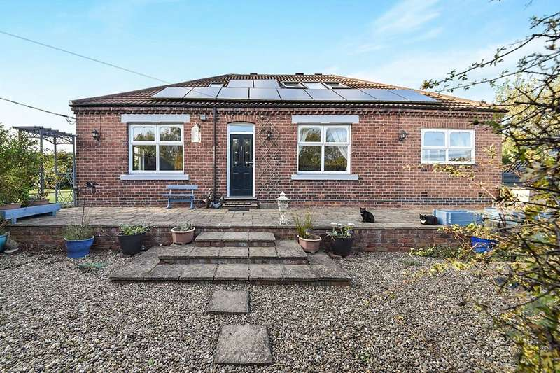 5 Bedrooms Detached Bungalow for sale in The Bungalow Red Barn Lane, Newton, Alfreton, DE55
