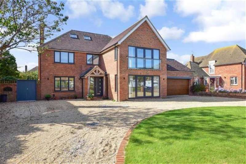 5 Bedrooms Detached House for sale in Sea Lane, Goring By Sea, West Sussex, BN12 4QB