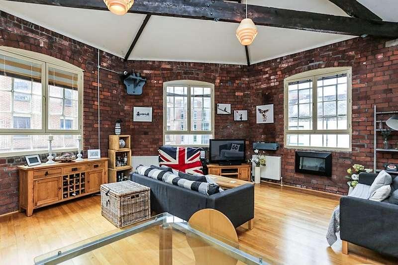 3 Bedrooms Flat for sale in Brooklyn Works Green Lane, Sheffield, S3
