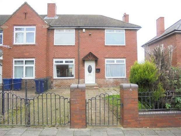 3 Bedrooms Semi Detached House for sale in Cross Bank Road, Newcastle upon Tyne, Tyne and Wear