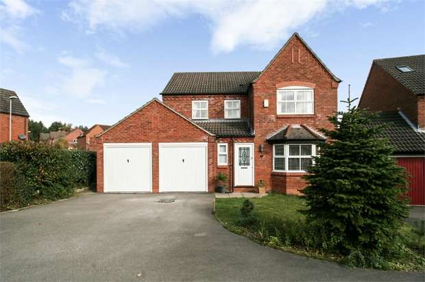 4 Bedrooms Detached House for sale in Oak View Rise, Harlow Wood, Mansfield, Nottinghamshire