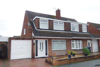 3 Bedrooms Semi Detached House for sale in Kintore Drive, Great Sankey, Warrington, Cheshire